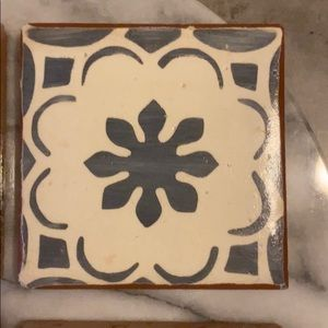 Mexican Ceramic Tile Coasters